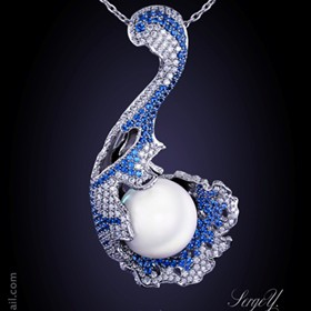 3D Jewellery: Aquarius