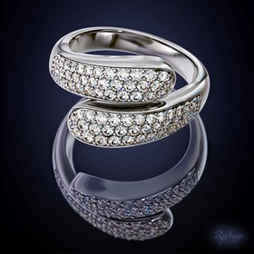3D Jewellery: Diamond ring